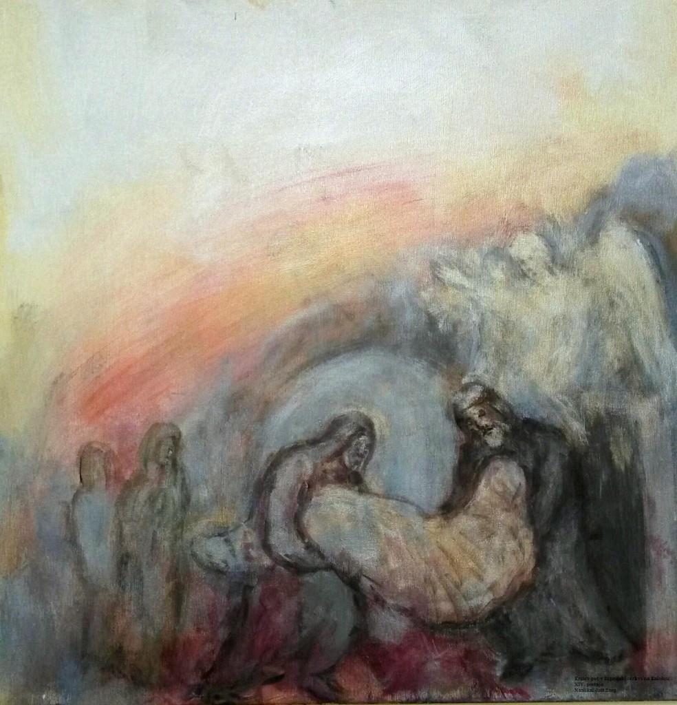 križev pot kalobje