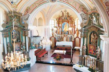 farna cerkev Kalobje