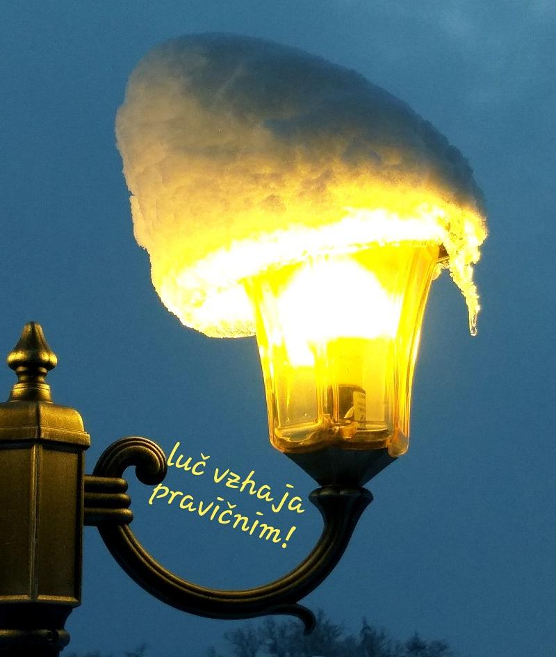 luč vzhaja pravičnim